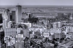 Boston in Black and White Stock Photography