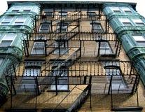 Boston, Brandtrap 01 Stock Foto's