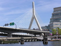 Boston Bridge Royalty Free Stock Image