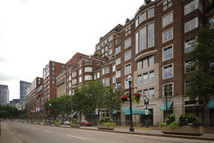 Boston Brownstone architecture Royalty Free Stock Images