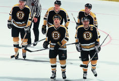 Boston Bruins Lizenzfreies Stockfoto