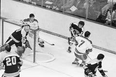 Boston Bruins d'annata Fotografie Stock Libere da Diritti