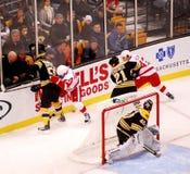 Boston Bruins defense Stock Image