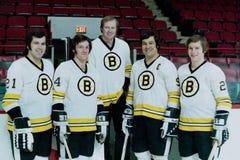 Boston Bruins del vintage Fotos de archivo libres de regalías