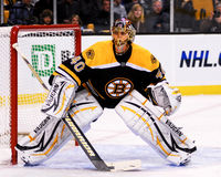 Boston Bruins di Tuukka Rask Fotografie Stock