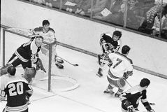 Boston Bruins do vintage Fotos de Stock Royalty Free