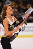 Boston Bruins-Eis-Mädchen Stockfotografie