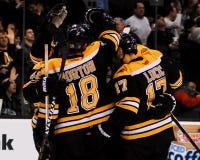 Boston Bruins-Ergebnis Stockbilder