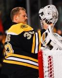 Boston Bruins Goalie Tim Thomas. Stock Images