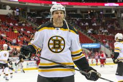 Boston Bruins right wing JAROMIR JAGR Royalty Free Stock Images