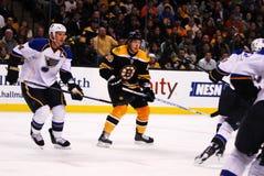 Boston Bruins rookie Jordan Caron Royalty Free Stock Photo