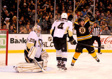 Boston Bruins score! Royalty Free Stock Images