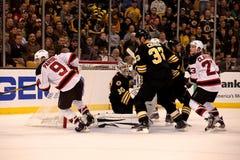 Boston Bruins v. New Jersey Devils (NHL Hockey) Royalty Free Stock Photos
