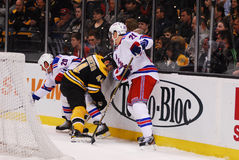 Boston Bruins v. New York Rangers Royalty Free Stock Images