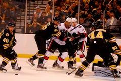 Boston Bruins v. Ottawa Senators NHL Hockey Stock Images