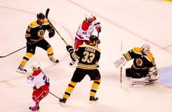 Boston Bruins v. Washington Capitals {NHL) Stock Photo