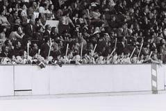 Boston Bruinsbank Stock Afbeeldingen