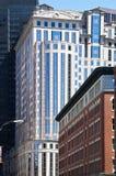 Boston Buildings. Modern and historical buildings in Boston, Massachusetts Royalty Free Stock Photo