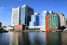 Boston buildings Royalty Free Stock Images