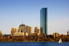 Boston By The Charles Royalty Free Stock Photography