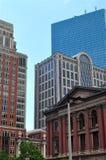 Boston byggnader Arkivbild
