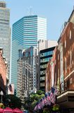 Boston céntrica imagen de archivo