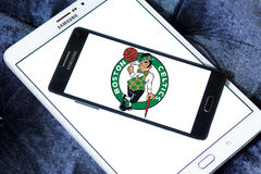 Boston Celtics american basketball team logo Stock Photo