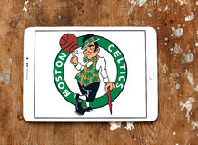 Boston Celtics american basketball team logo Royalty Free Stock Images