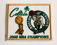 Boston Celtics 2008 Championship Patch. Stock Image