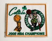 Boston Celtics 2008 Championship Patch. Stock Image