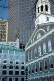 Boston center architecture Stock Photo