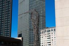 Boston center architecture Stock Image