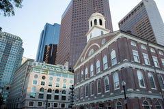 Boston center Royalty Free Stock Photos