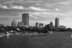 Boston by the charles Stock Photo