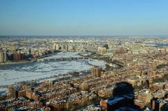 Boston Charles River e baia posteriore, Boston Fotografie Stock Libere da Diritti