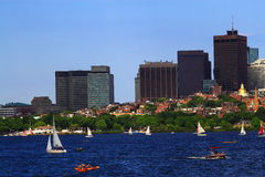 Boston Charles River Royalty Free Stock Photo