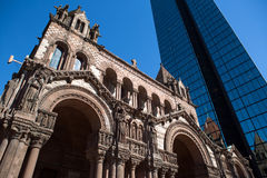 Boston church Stock Photo
