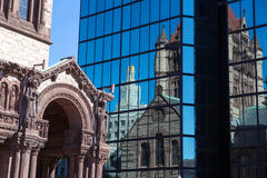 Boston church Stock Image