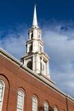 Boston church Royalty Free Stock Photos