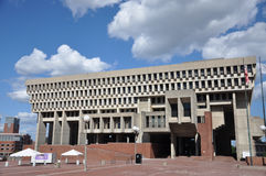 Boston City Hall, downtown Boston Stock Photos