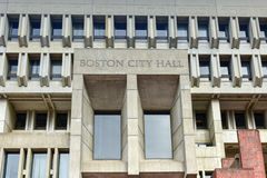 Free Boston City Hall In Government Center Stock Photography - 77456322