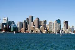 Boston City Skyline Royalty Free Stock Photography