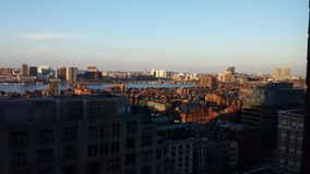Boston City View Royalty Free Stock Photo