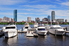Boston cityscape Royalty Free Stock Images