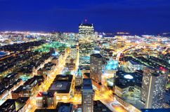 Boston Cityscape Fotografering för Bildbyråer