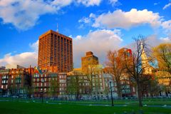 Boston Cityscape Stock Images