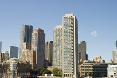 Boston cityscapes Royalty Free Stock Photo