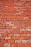 Boston clay brick flooring texture Massachusetts Stock Image