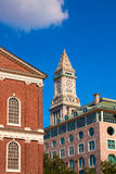 Boston Clock tower Custom House Massachusetts Royalty Free Stock Photography