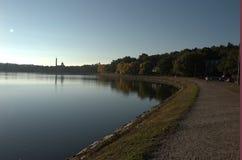 Boston College Reservoir Stock Photography
